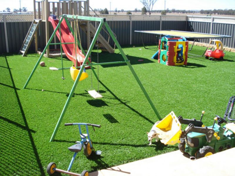 kids backyard grass